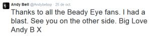 Andy's tweet.
